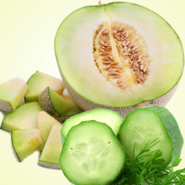 Cucumber & Melons Fragrance Oil  for making candles, soaps, creams, lotions, tonics and other cosmetics