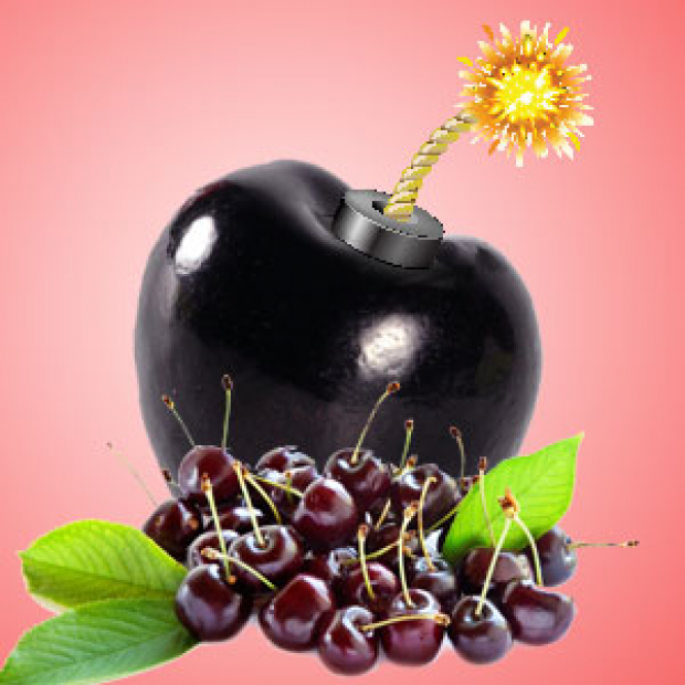 Black Cherry BOMB Fragrance Oil for making candles, soaps, creams, lotions, tonics and other cosmetics