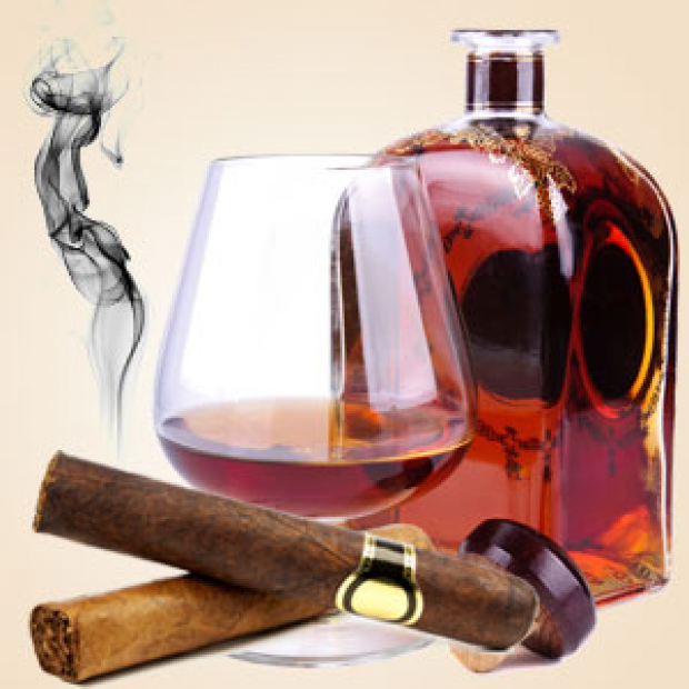 Cognac and Cubans Fragrance Oil for making candles, soaps, creams, lotions, tonics and other cosmetics