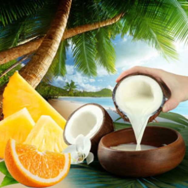 Coconut Coast Fragrance Oil  for making candles, soaps, creams, lotions, tonics and other cosmetics