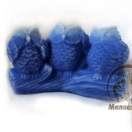 Three owls 3D