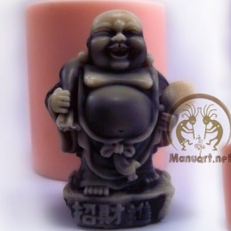 Hotei Netsuke with a bag