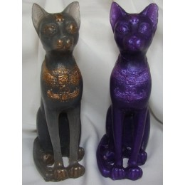 Silicone mold - Egyptian cat Bastet 3D - for making soaps, candles and figurines
