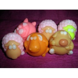 Silicone mold - Little lamb - for making soaps, candles and figurines