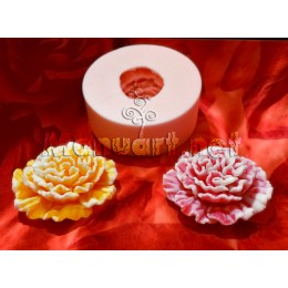 Silicone mold - Carnation 3D - for making soaps, candles and figurines