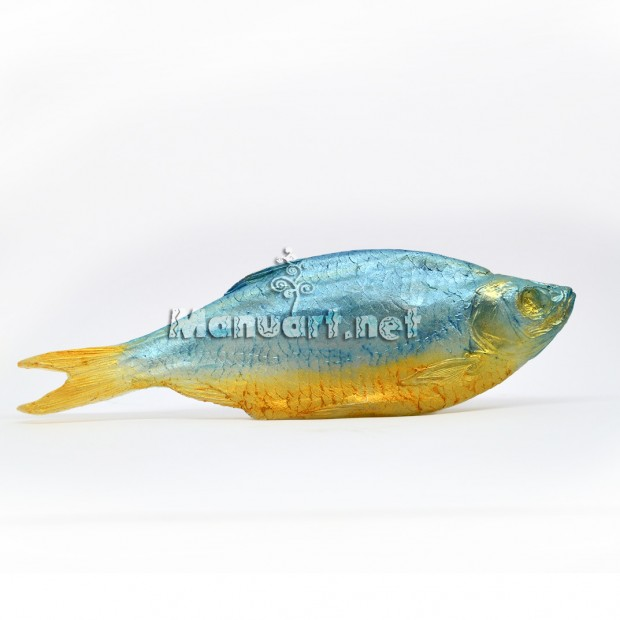 Silicone mold - Fish - for making soaps, candles and figurines