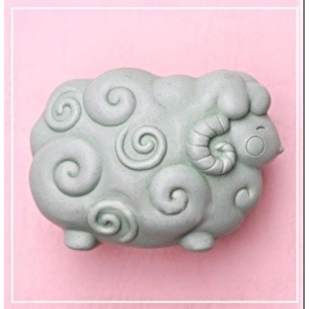 Silicone mold - Lamb - the cloud - for making soaps, candles and figurines