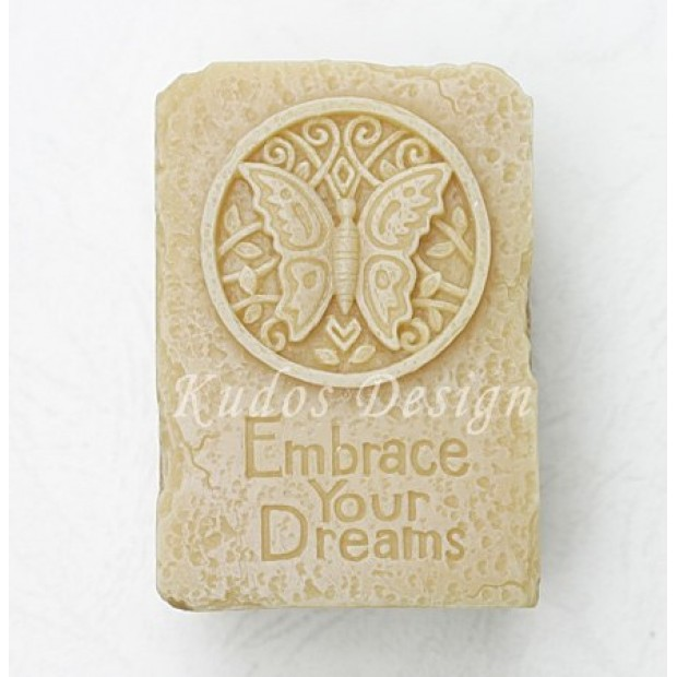Silicone mold - Embrace your dreams (butterfly) 2D - for making soaps, candles and figurines