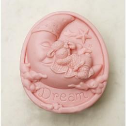 Dream of lamb on the moon