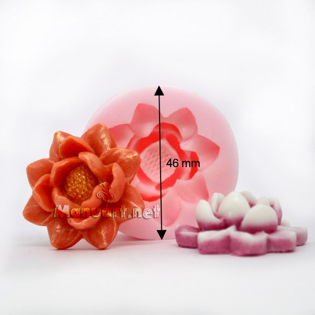 Silicone mold - Flower Mold № 1 - for making soaps, candles and figurines