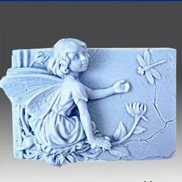 Silicone mold - Fairy Rovina - for making soaps, candles and figurines