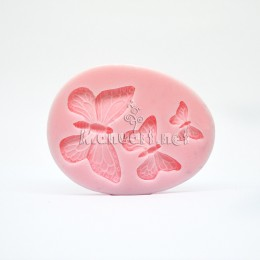 Silicone mold - Mold butterflies - for making soaps, candles and figurines