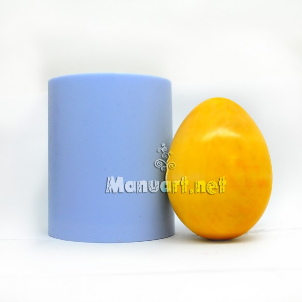 Silicone mold - Huge egg 3D - for making soaps, candles and figurines