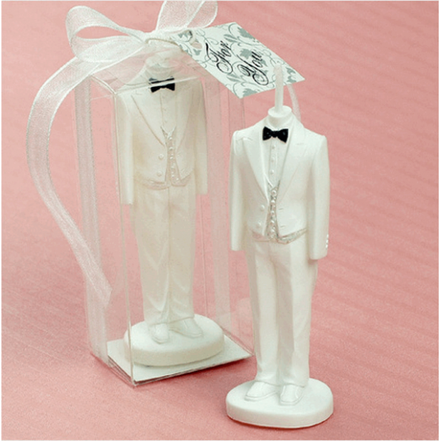 Silicone mold - The groom 3D - for making soaps, candles and figurines