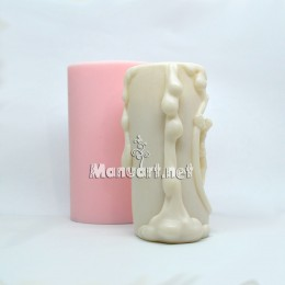 "Silicone mold - Candle mold ""Jesus on the cross"" - for making soaps, candles and figurines"