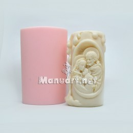 "Candle mold ""Holy Family"""