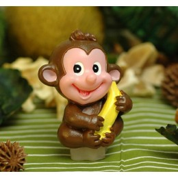 Monkey with banana small 3D