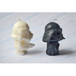 Silicone mold - Clone  Star Wars 3D - for making soaps, candles and figurines