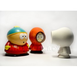 Silicone mold - South Park Kenny 3D - for making soaps, candles and figurines