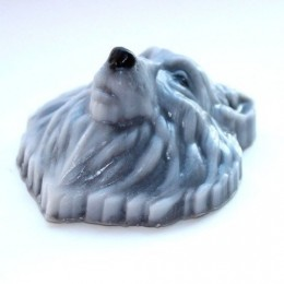 Silicone mold - Wolf head - for making soaps, candles and figurines