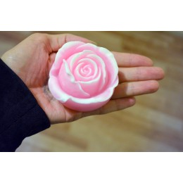 Silicone mold - Rose #2 - for making soaps, candles and figurines