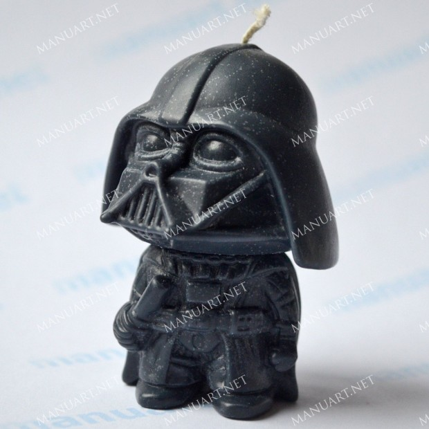 Silicone mold - Darth Vader 3D - for making soaps, candles and figurines