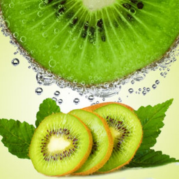 Kiwi for making candles, soaps, creams, lotions, tonics and other cosmetics