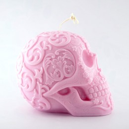 Silicone mold - Big Mexican Skull 3D - for making soaps, candles and figurines
