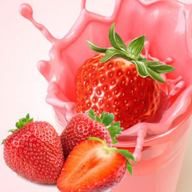 FRESH STRAWBERRY for making candles, soaps, creams, lotions, tonics and other cosmetics