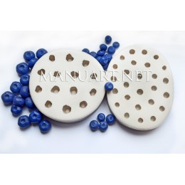 Silicone mold - Big Blueberry 3D - for making soaps, candles and figurines