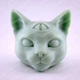 Mystical cat head 3D