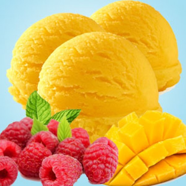 Mango Sorbet for making candles, soaps, creams, lotions, tonics and other cosmetics