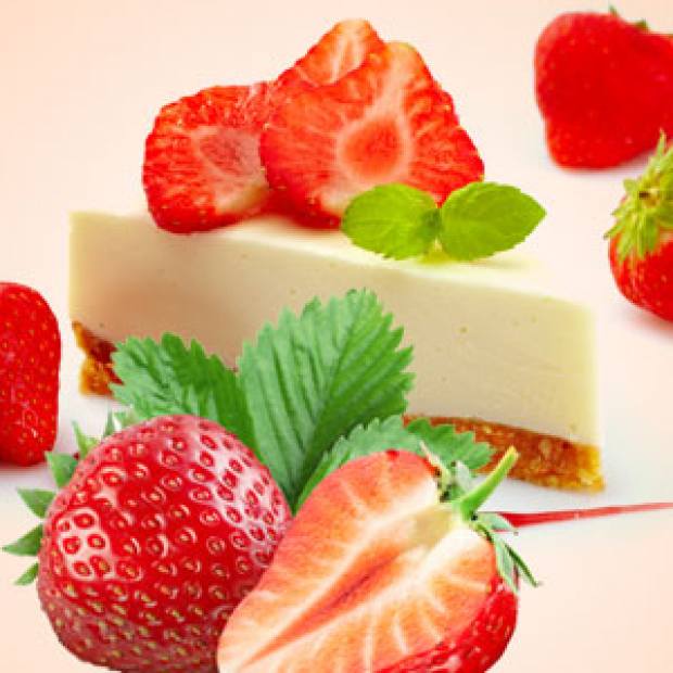 Strawberry Cheesecake 30 ml for making candles, soaps, creams, lotions, tonics and other cosmetics