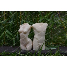 Silicone mold - Male torso 3D - for making soaps, candles and figurines