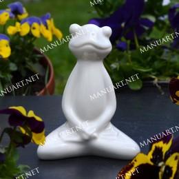 Meditation sitting frog 3D
