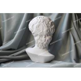 Silicone mold - Big David head 15 cm 3D - for making soaps, candles and figurines