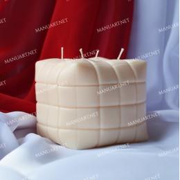 Big pouf sofa Cube 3D