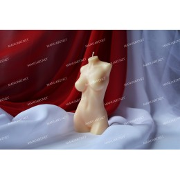 Silicone mold - Female torso 3D  - for making soaps, candles and figurines