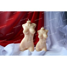 Silicone mold - BIG female torso 3D - for making soaps, candles and figurines