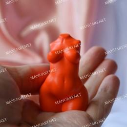 MINI curvier Woman torso 3D