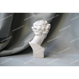 Silicone mold - Little Giuliano de Medici bust 3D - for making soaps, candles and figurines