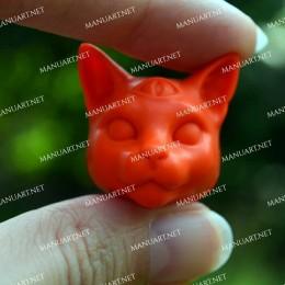 MINI Mystical cat head 3D