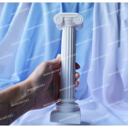 Big 23 cm / 9'' Roman column 3D