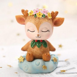 Fawn on a cloud