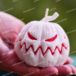 Big Angry Halloween pumpkin
