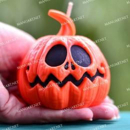 Big Funny Halloween pumpkin