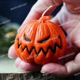 Little Angry Halloween pumpkin