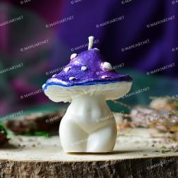 Medium Mushroom Goddess 3D