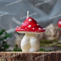 Little Mushroom Goddess 3D