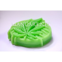 Silicone mold - Marijuana - for making soaps, candles and figurines